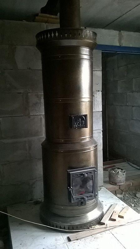 Печь в металлическом футляре своими руками 304
